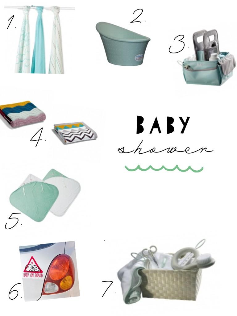 propozycje prezentów na Baby shower