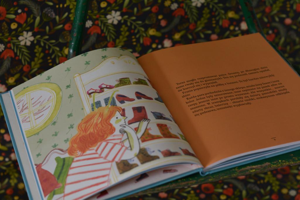 książki dla dzieci sto nóg stonogi fruzi