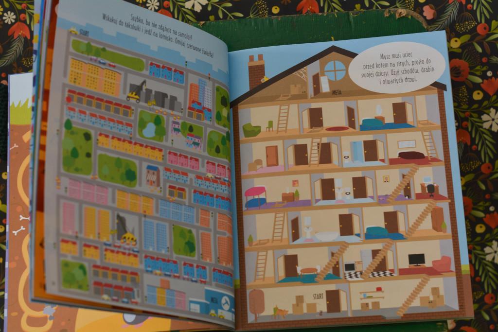książki dla dzieci absolutnie fantastyczne labirynty