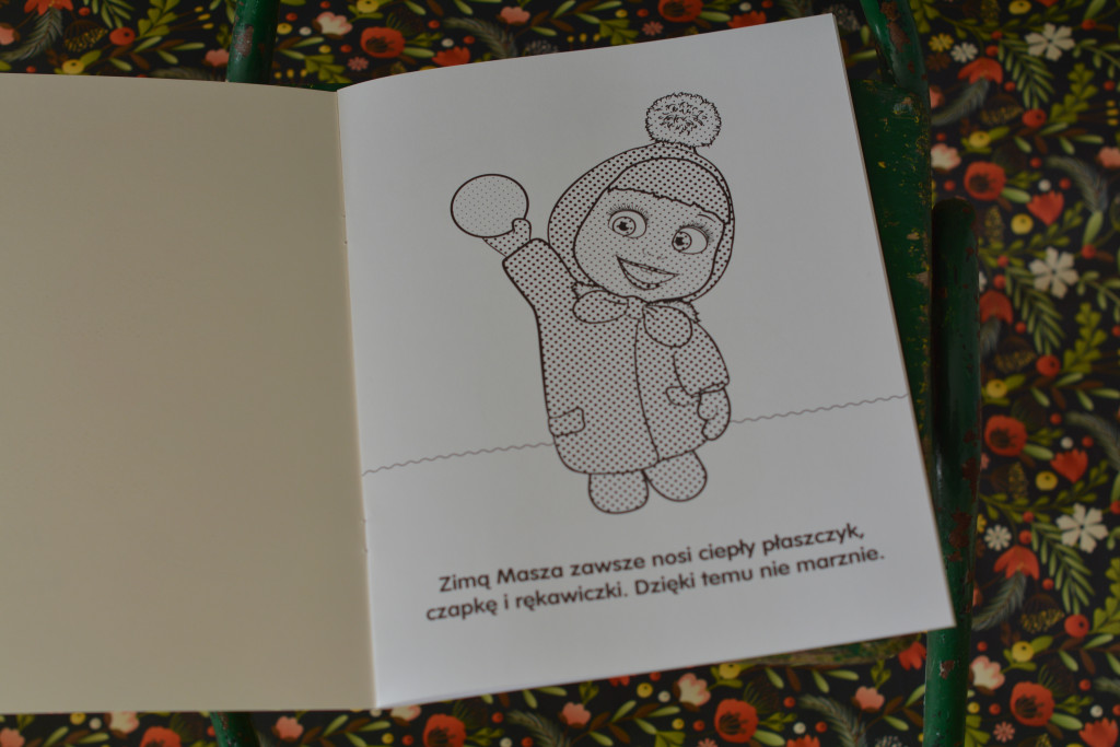 książki dla dzieci masza i niedźwiedź