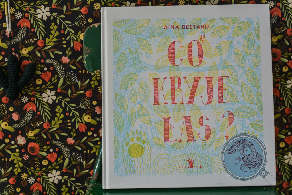książki dla dzieci co kryje las