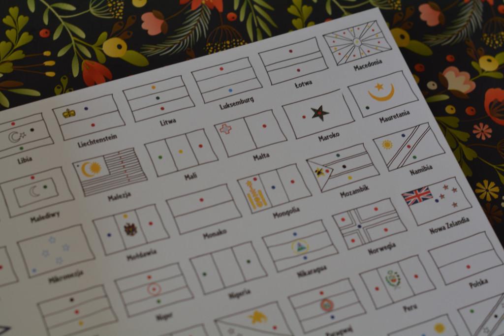 książki dla dzieci mapy do kolorowania