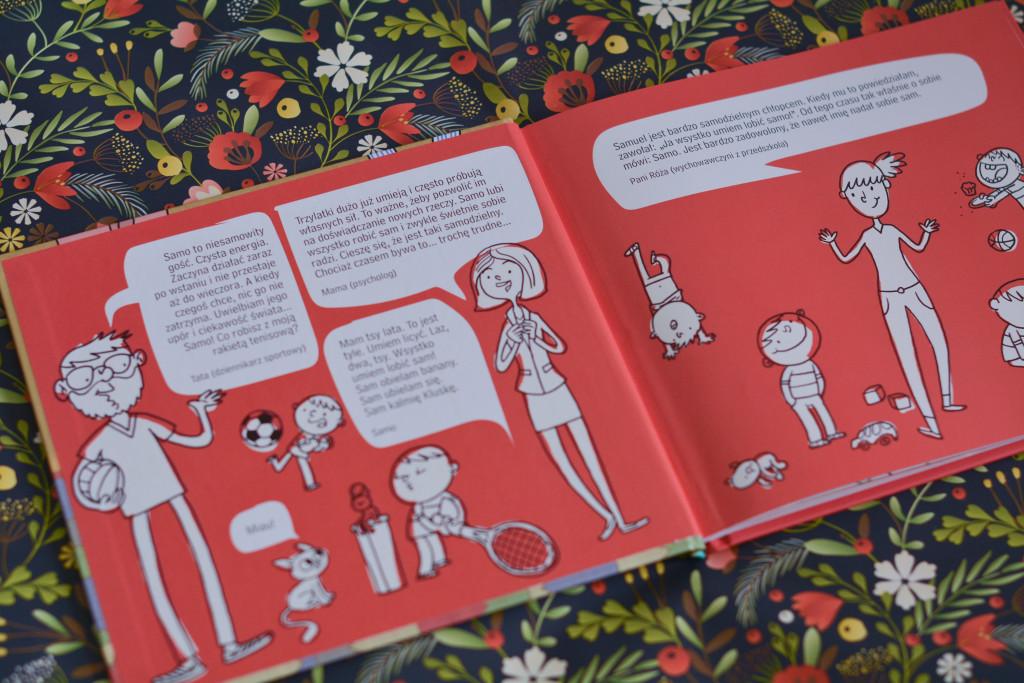 książki dla dzieci samo dzielny wstaje sam