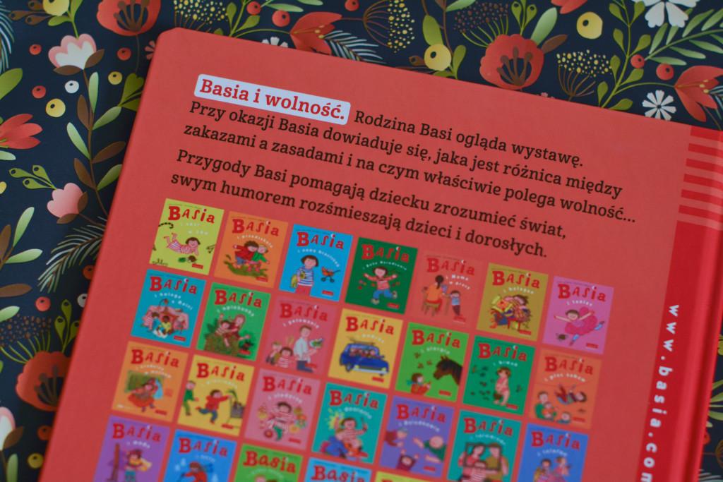 książki dla dzieci basia i wolność