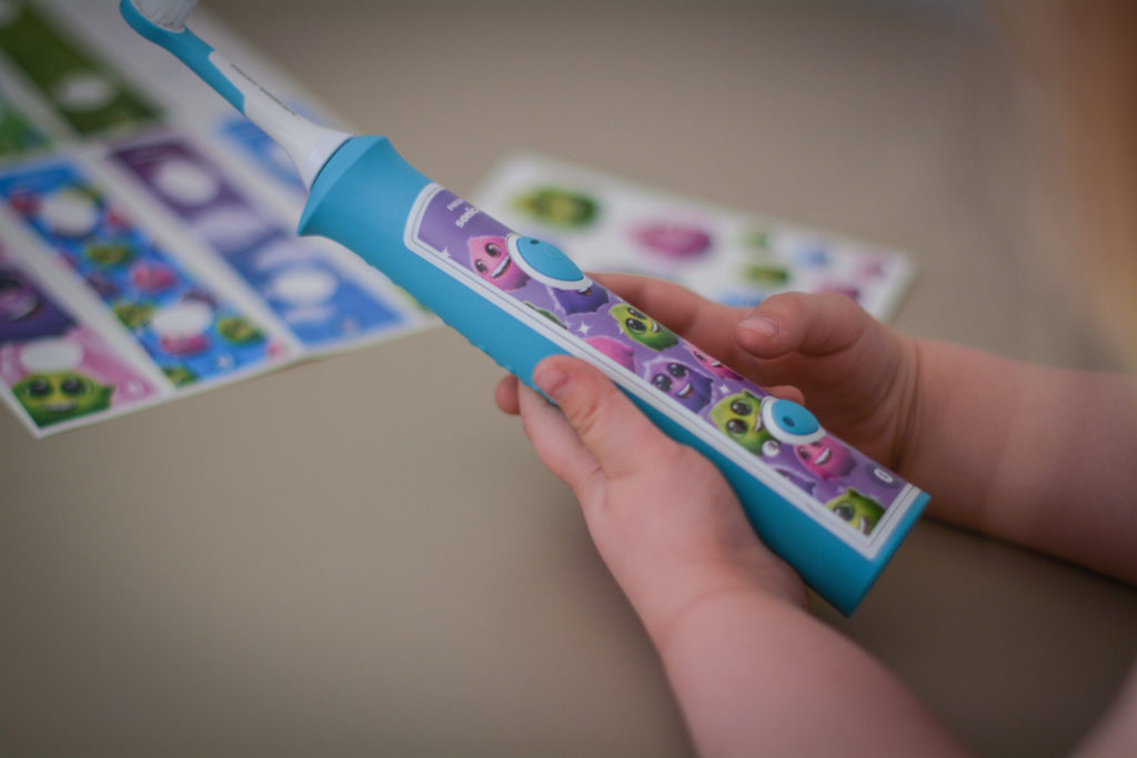szczoteczka soniczna dla dzieci