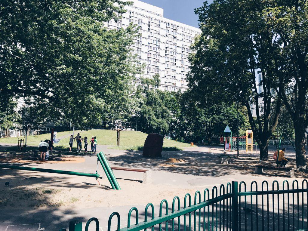 place zabaw Warszawa