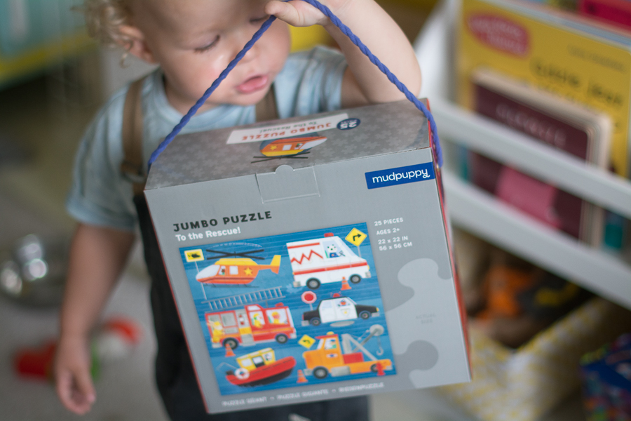 jumobo puzzle - Prezent dla 2 latka