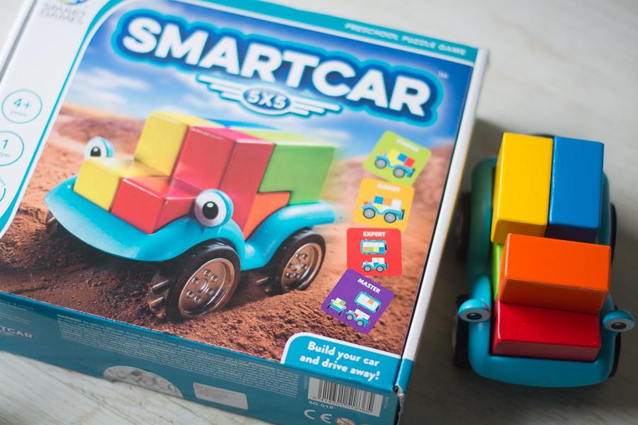 smartcar zabawka pudełko