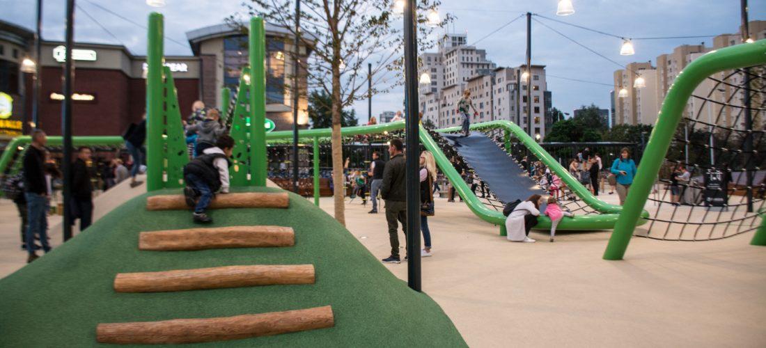 Plac zabaw Arkadia – najbardziej nowoczesny plac zabaw w Warszawie