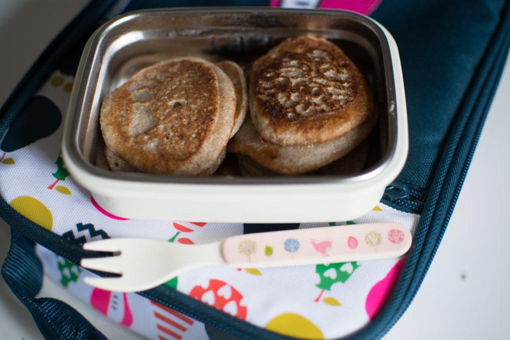 placki w śniadaniówce dla dzieci