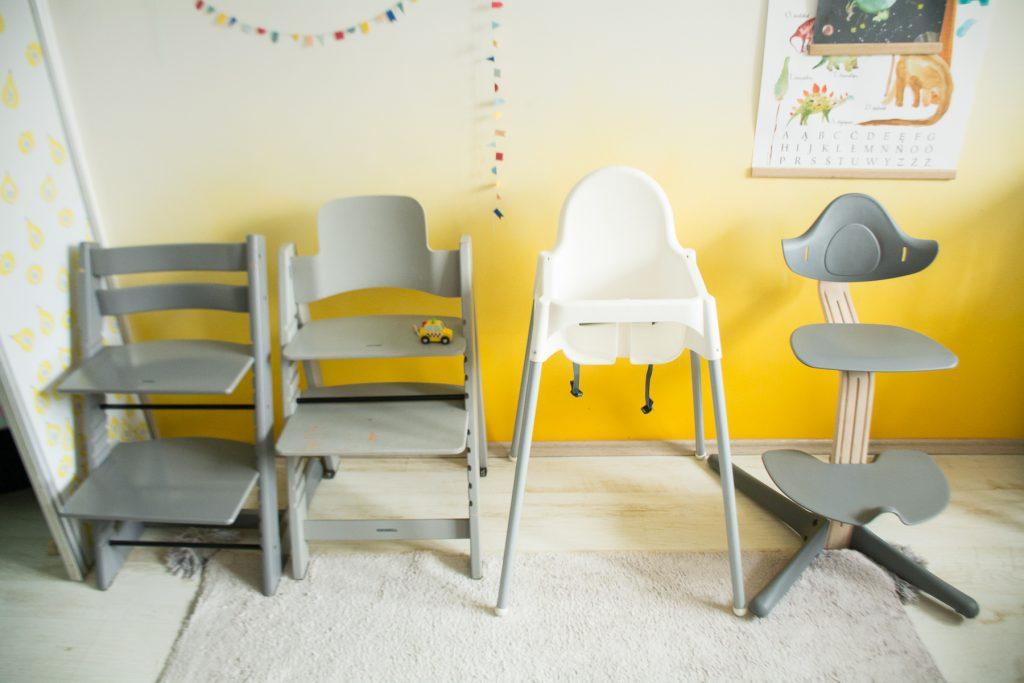 Krzesełko do karmienia - porównanie 4 modeli