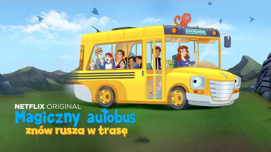 najlepsze bajki na netflix - Magiczny Autobus