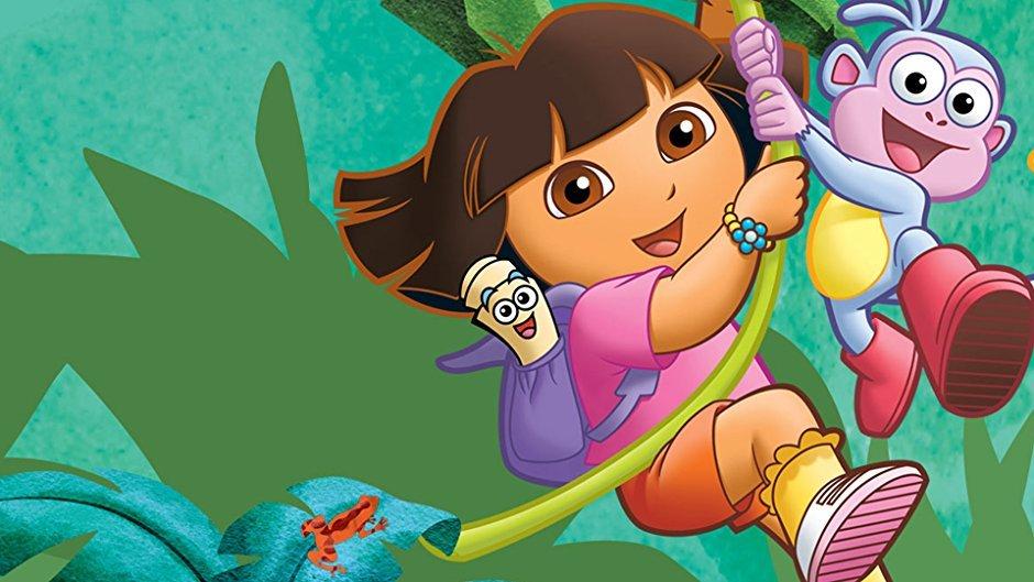 najlepsze bajki na netflix - Dora poznaje świat