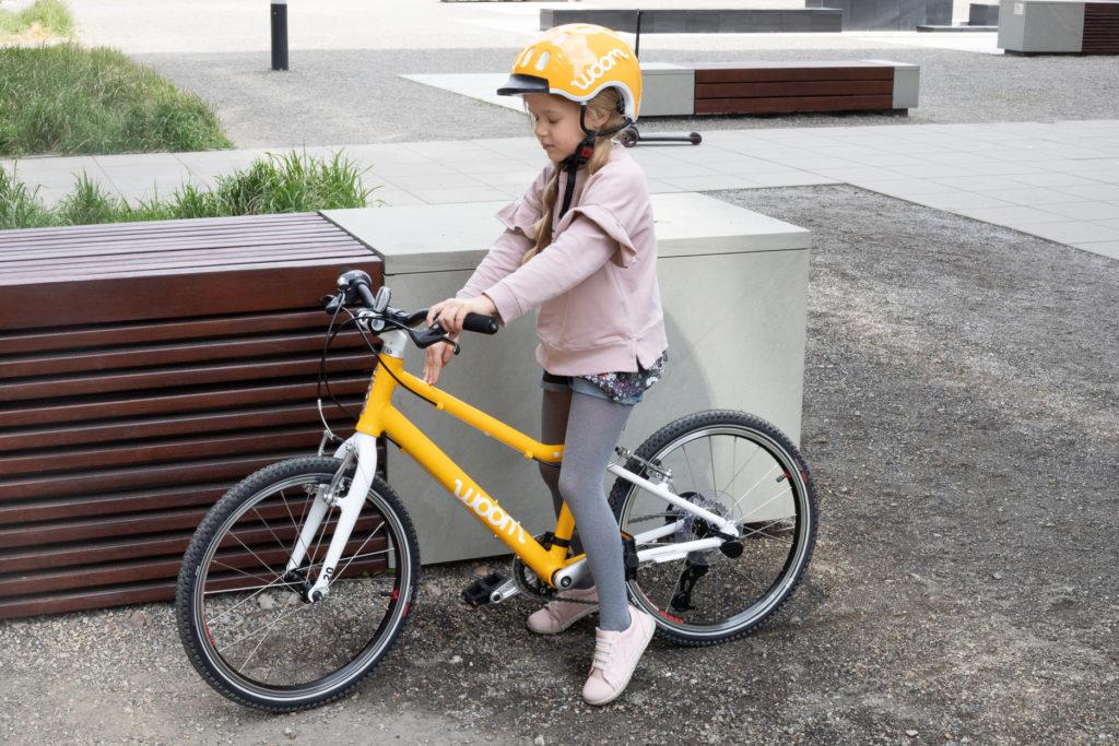 woom 4 - rower dla 6 latka