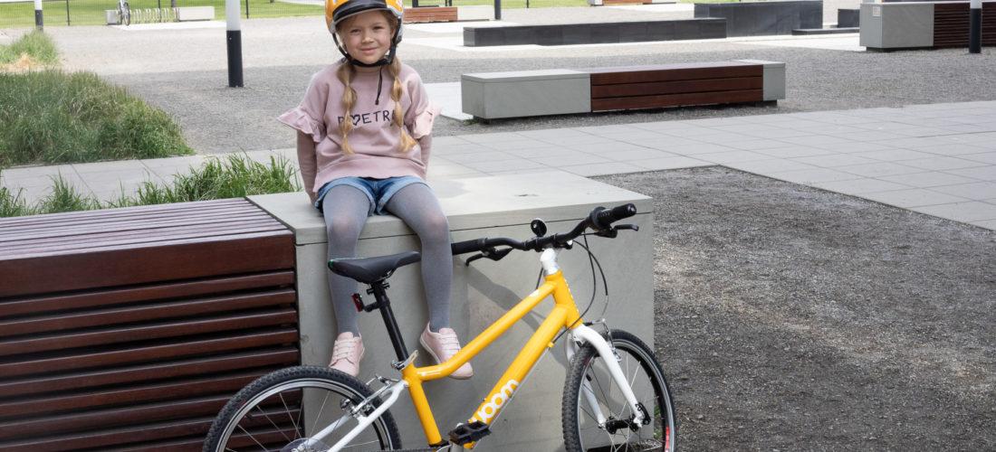 Woom 4 – lekki rower dla dziecka – nasz test