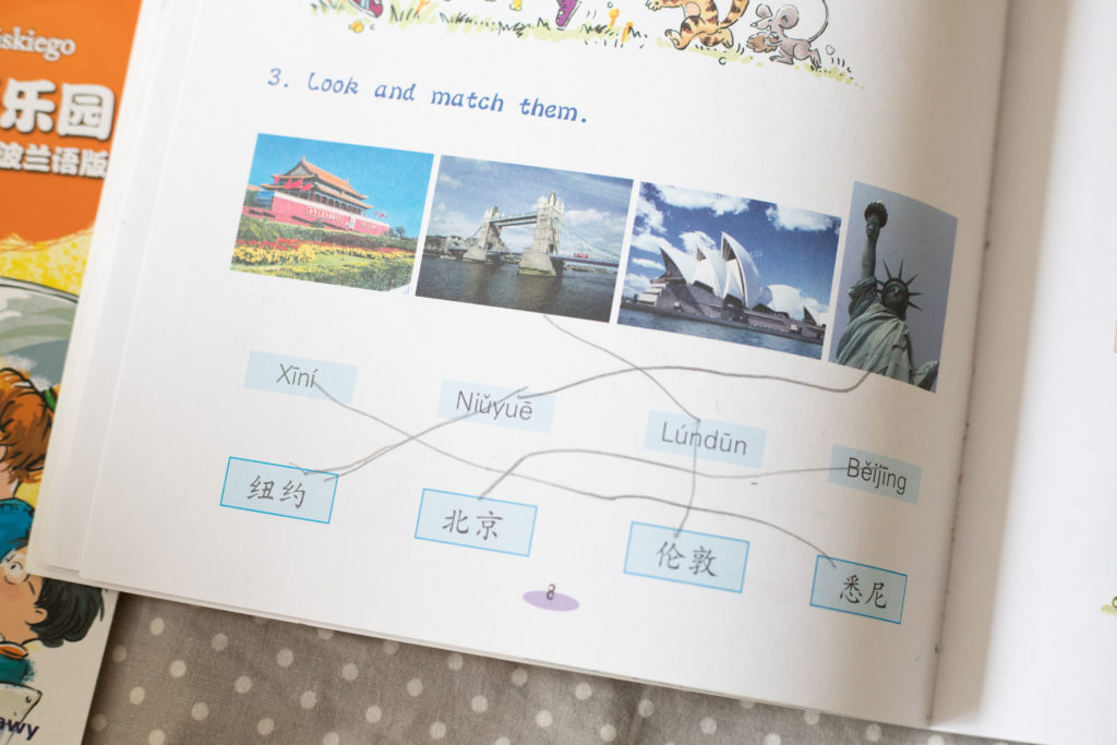 język chiński - ćwiczenia