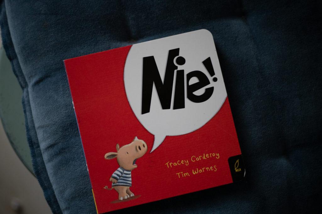 książka z serii Nie!