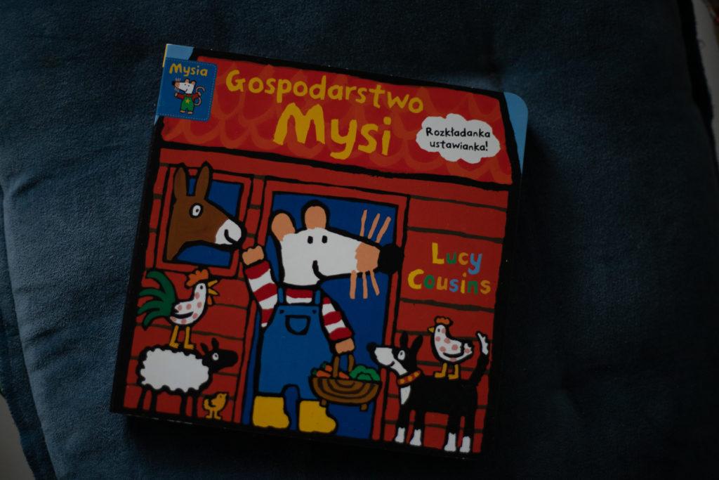 zdjęcie książki dla dzieci - Mysia