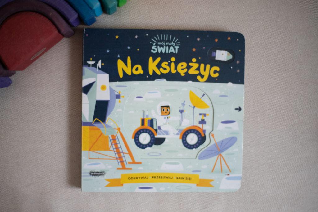 zdjęcie książki dla dzieci - Na Księżyc