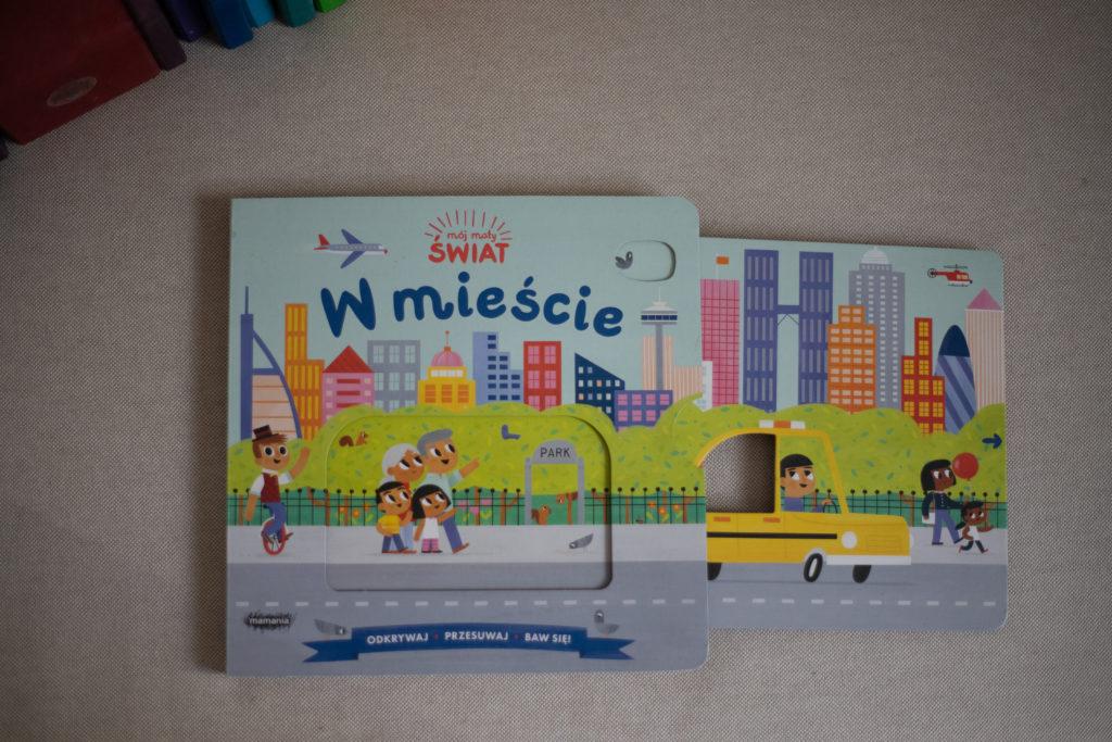 zdjęcie książki dla dzieci - W mieście