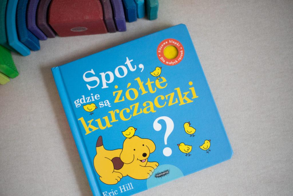 zdjęcie książki dla dzieci - Spot, gdzie są żółte kurczaczki