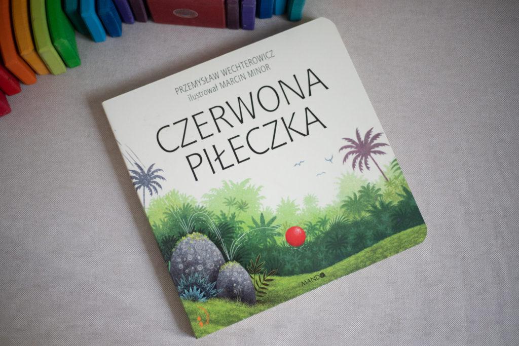 zdjęcie książki dla dzieci - Czerwona Piłeczka