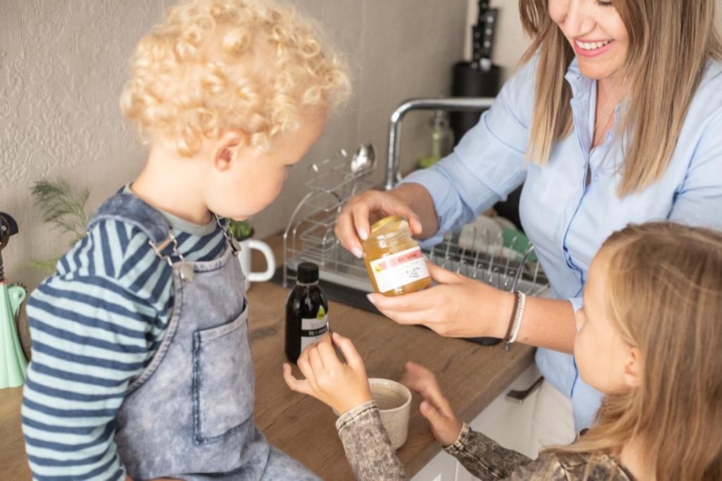 rodzina lubi olej z czarnuszki