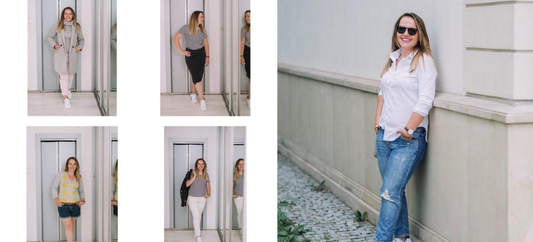 Moja szafa – 10 stylizacji z białymi butami