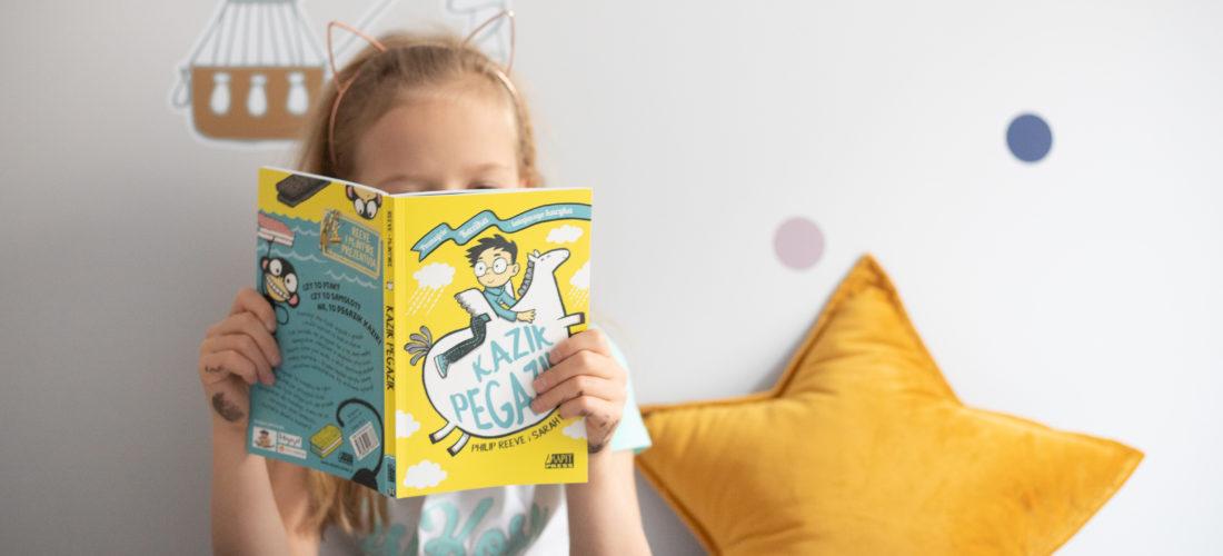 Książka dla dzieci, którą przeczytają jednym tchem
