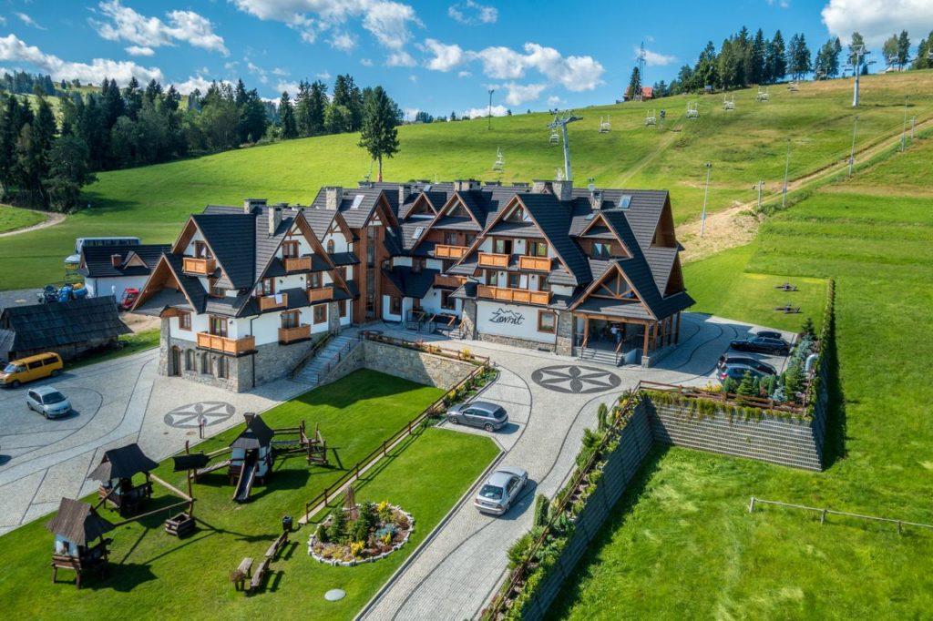 Hotel Zawrat Ski Resort & Spa - zdjęcie z lotu ptaka