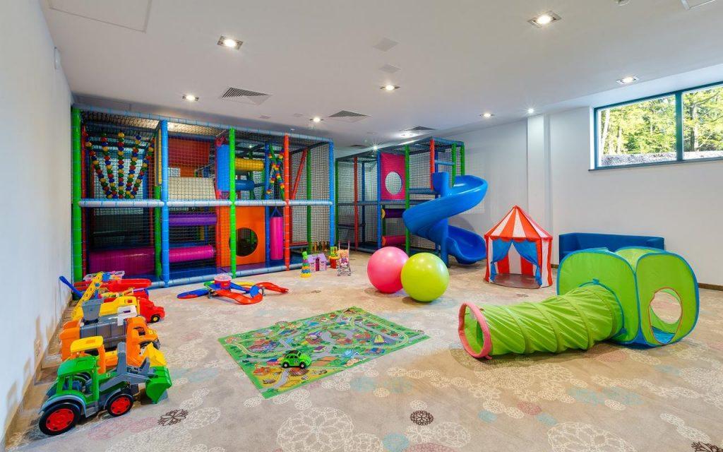 Blue Mountain Resort - atrakcyjne miejsca dla dzieci - sala zabaw