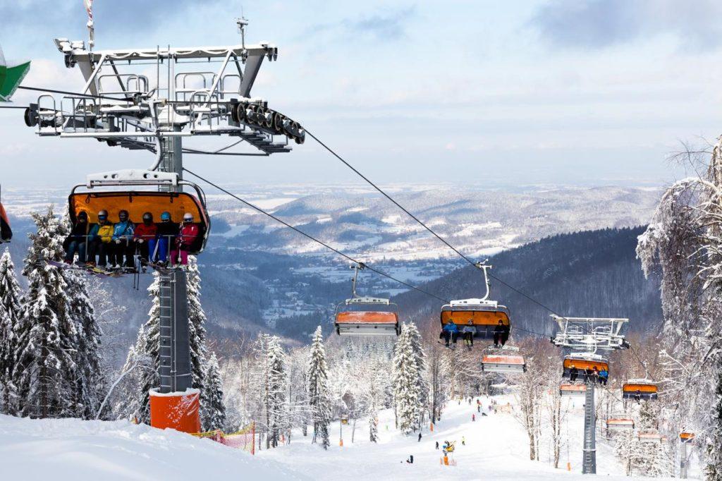 Czarny Groń - hotele na narty z dziećmi