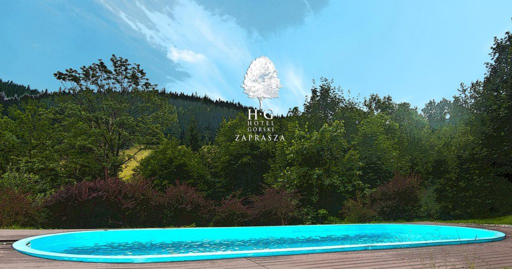 Hotel Górski Czarna Góra - basen zewnętrzny