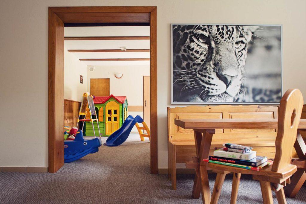 Hotel Górski Czarna Góra - pokój z atrakcjami dla dzieci