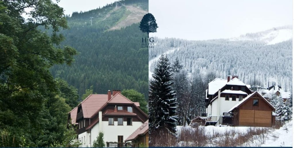 Hotel Górski Czarna Góra - bryła budynku