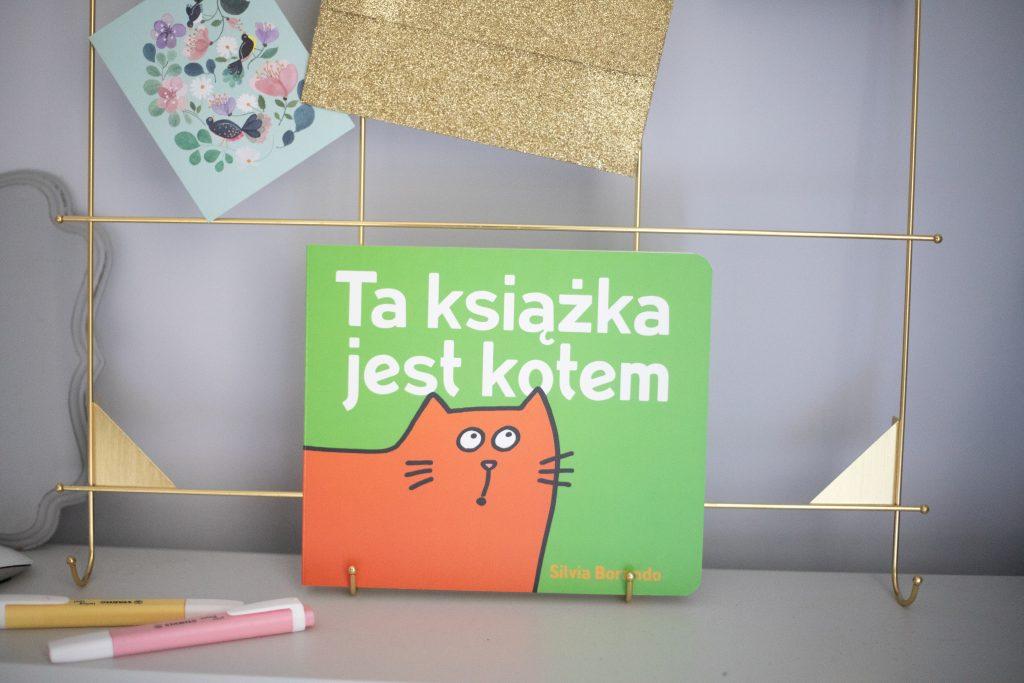 Ta książka jest kotem - przód okładki