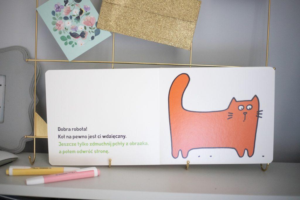 Ta książka jest kotem - przykładowa strona