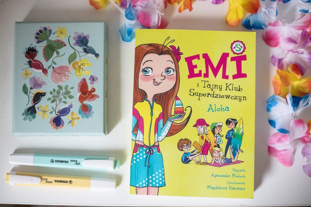 emi i jej tajny klub - przód okładki