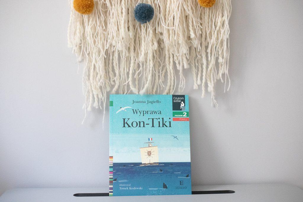 czytam sobie - wyprawa Kon-Tiki okładka