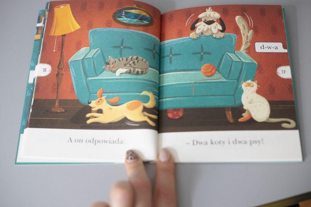 czytam sobie - koperta z kotem