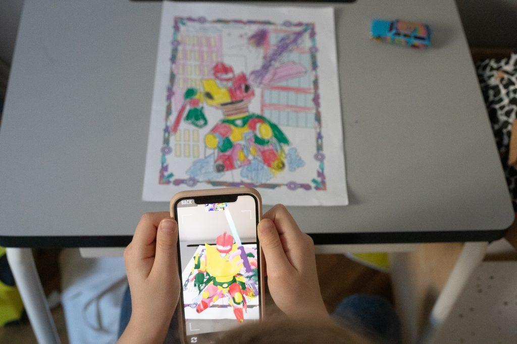 livecoloring - zabawy dla dzieci w domu