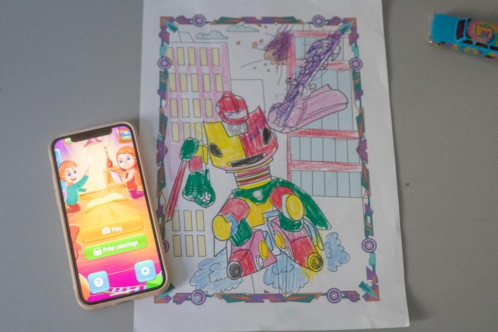 zabawy z dziećmi w domu - livecoloring
