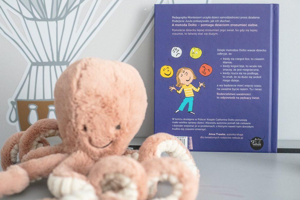 książka o emocjach dla dzieci - Dolto - tył okładki