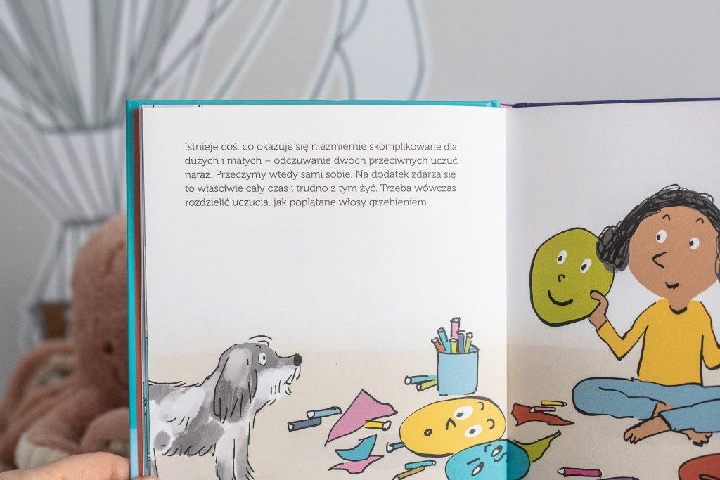 książka o emocjach dla dzieci - Dolto - środkowa strona