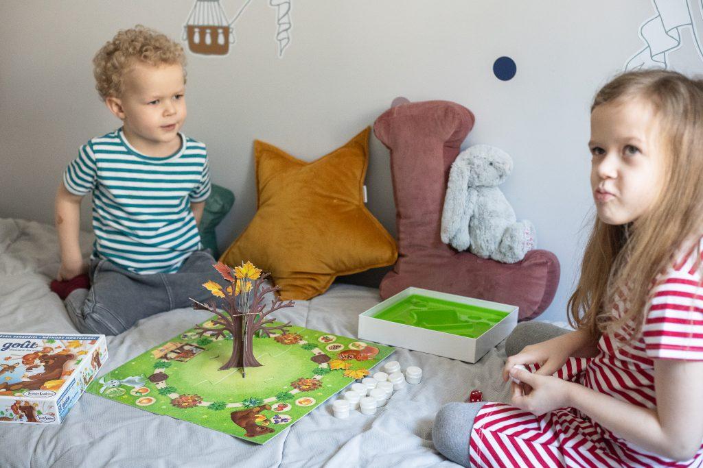 gra dla dzieci sensoryczna - smaki