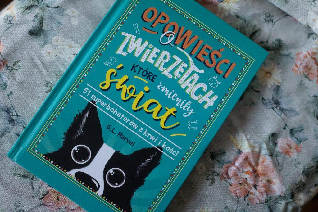 zdjęcie książki dla dzieci - opowieści o zwierzętach, które zmieniły świat