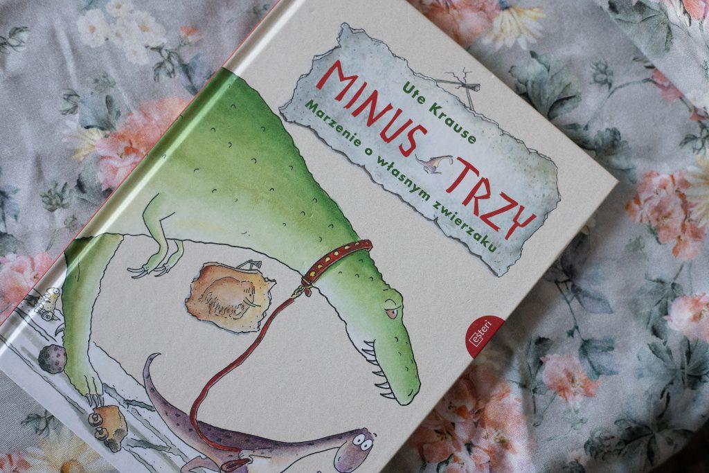 zdjęcie książki dla dzieci - Minus Trzy