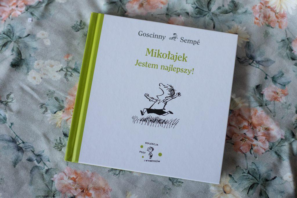 zdjęcie książki dla dzieci - Mikołajek. Jestem Najlepszy!