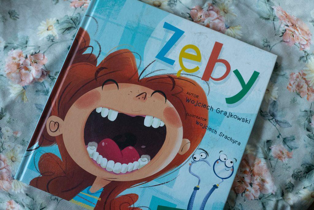 zdjęcie książki dla dzieci - Zęby