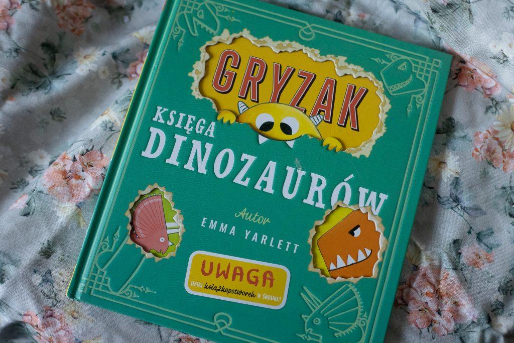 zdjęcie książki dla dzieci - Gryzak księga dinozaurów